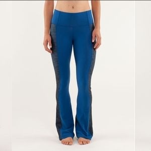 Lululemon Barre pulse pant regular limitless blue